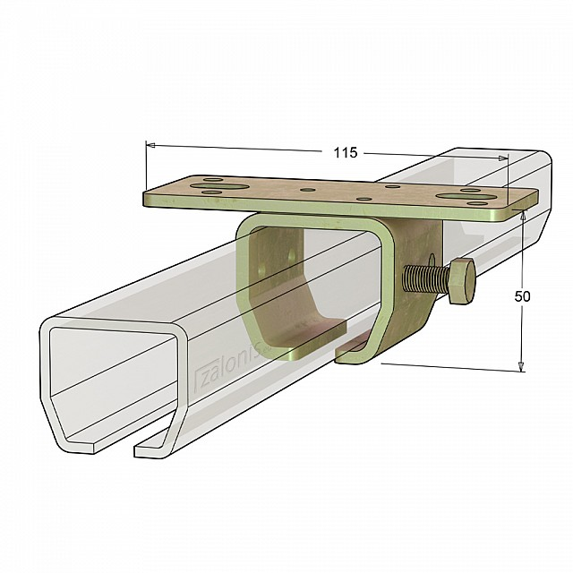 ROOF RAIL SUPPORT H23